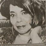 """Mary Wells - """"A Voz Por Um Cigarro"""" (obituário)"""